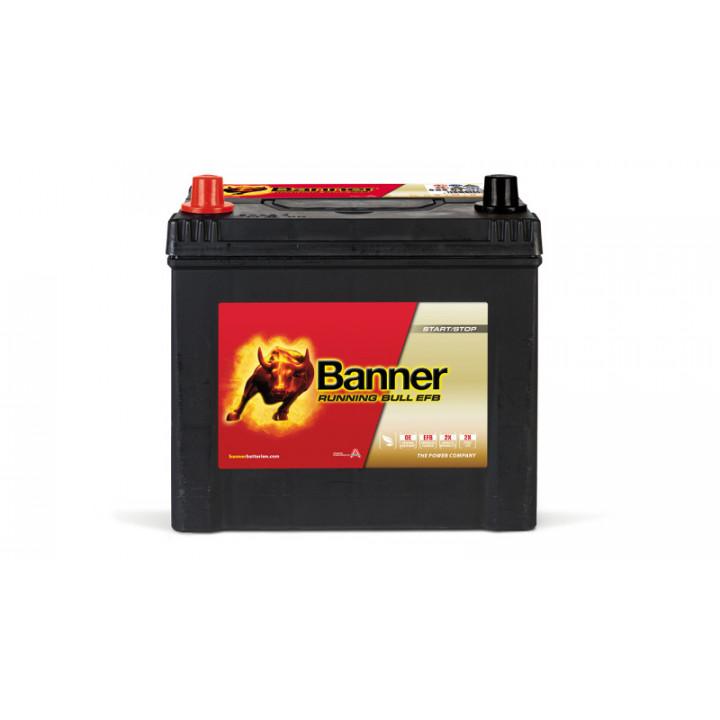 Аккумулятор автомобильный Banner 56501 12в 65A/h 550A EFB