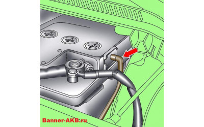 Нужно ли использовать шланг для отвода газов в аккумуляторе?