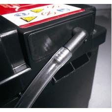 Могу ли я поменять сторону отвода газов аккумулятора Banner?