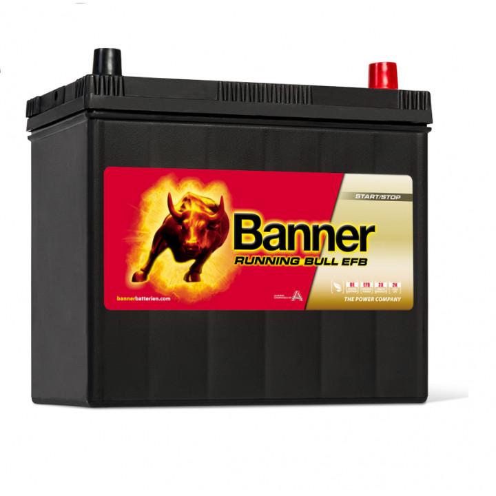 Аккумулятор автомобильный Banner 55515 12в 55A/h 460A EFB.