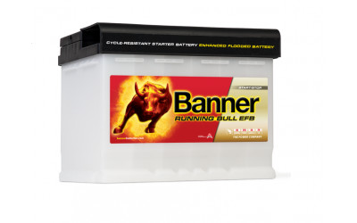 BANNER Running Bull EFB (56011) 60 А/ч