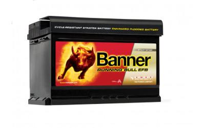 BANNER Running Bull EFB (56512) 65 А/ч
