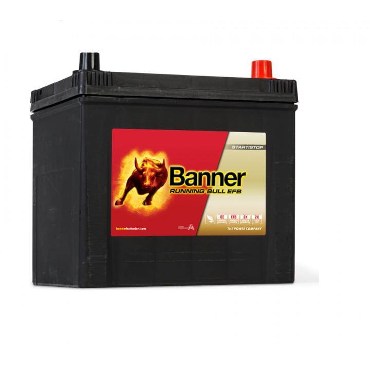 Аккумулятор автомобильный Banner 56515 12в 65A/h 550A EFB.