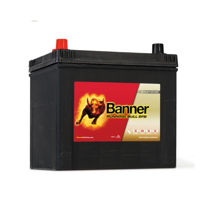 Аккумулятор автомобильный Banner 56516 12в 65A/h 550A EFB