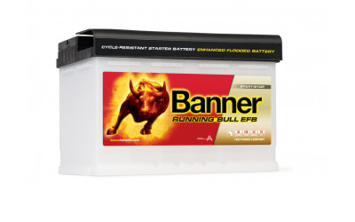 BANNER Running Bull EFB (57011) 70 А/ч