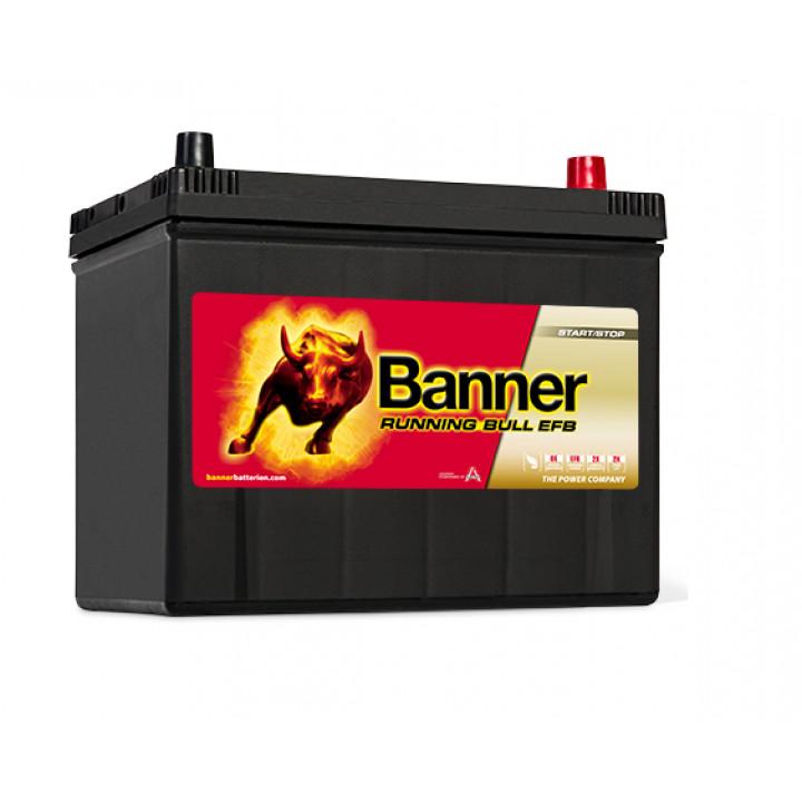 Аккумулятор автомобильный Banner 57015 12в 70A/h 680A EFB.