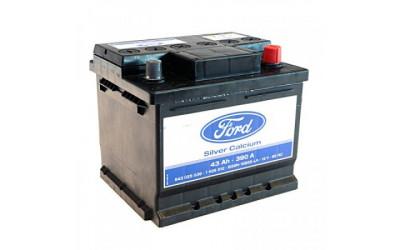 Родной аккумулятор FORD 43А/ч  Ca/Ca