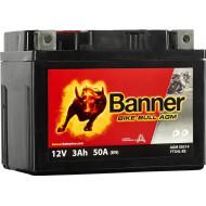 BANNER Bike Bull AGM (50314 / YTX4L-BS) 3 А/ч