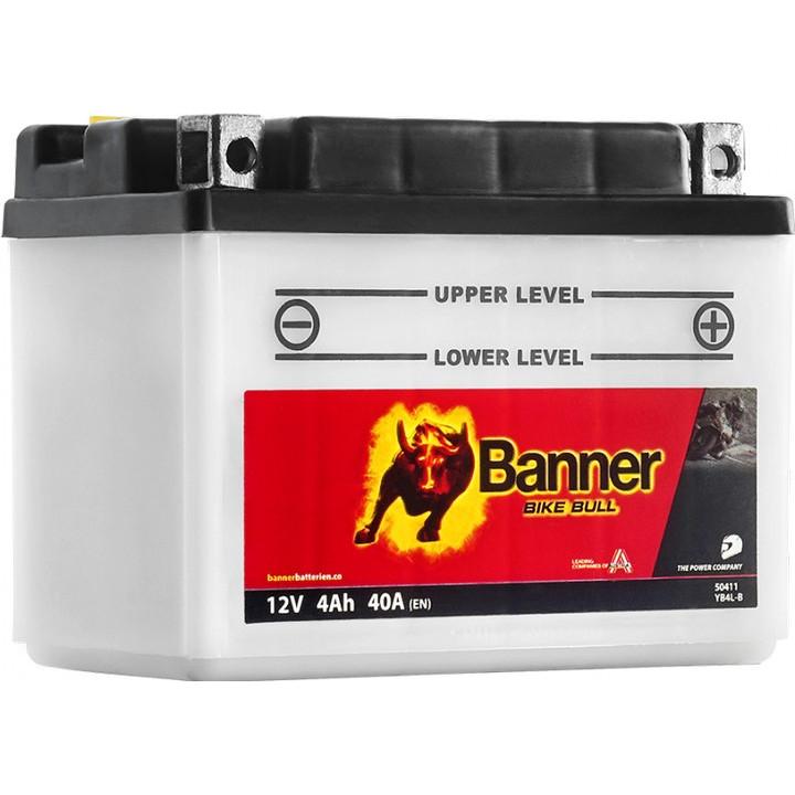 Мото аккумулятор BANNER Bike Bull Classic (50411) 4 А/ч