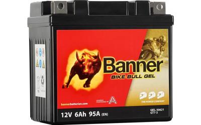 BANNER Bike Bull GEL (50621 / GT7-3) 6 А/ч