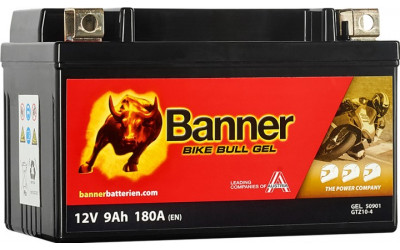 BANNER Bike Bull GEL (50901 / GTZ10-4) 9 А/ч