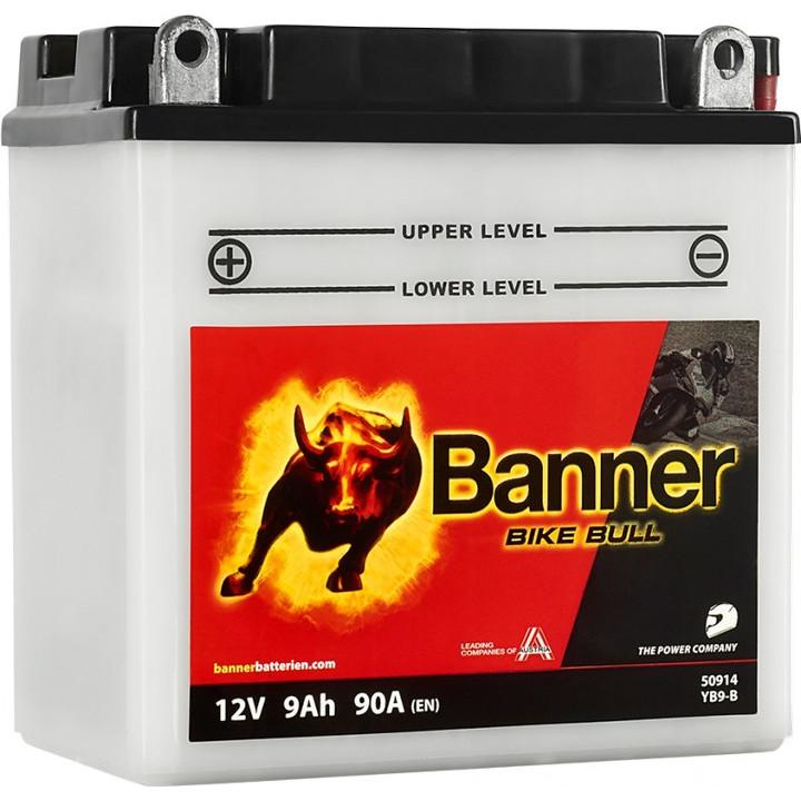 Мото аккумулятор BANNER Bike Bull Classic (50914) 9 А/ч