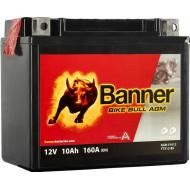 BANNER Bike Bull AGM (51012 / YTX12-BS) 10 А/ч