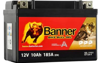 BANNER Bike Bull GEL (51021 / GT12A-4) 10 А/ч