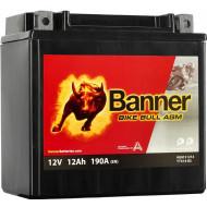 BANNER Bike Bull AGM (51214 / YTX14-BS) 12 А/ч