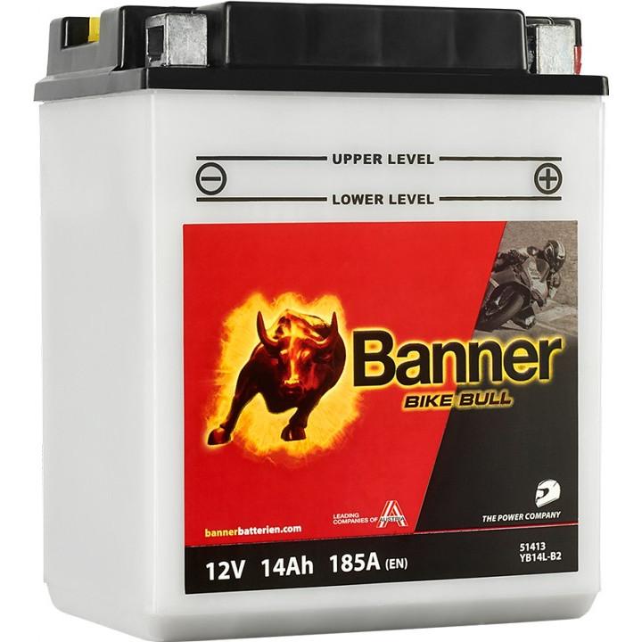 Мото аккумулятор BANNER Bike Bull Classic (51413) 14 А/ч