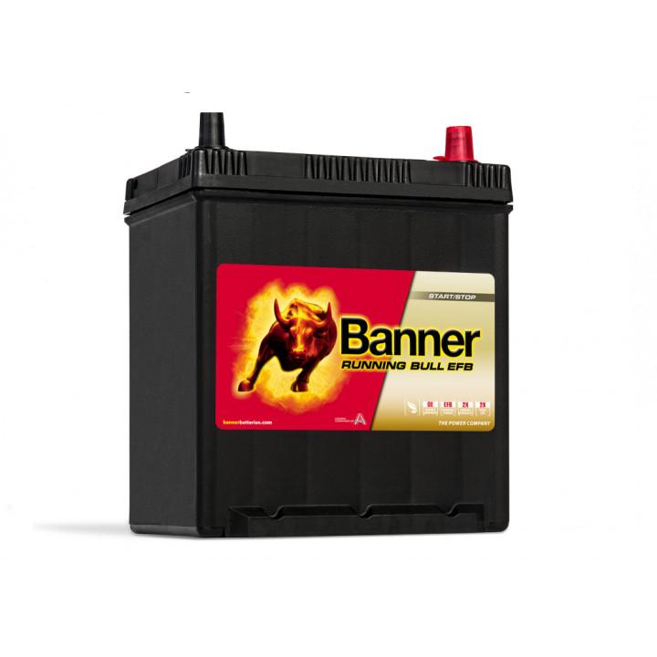 Аккумулятор автомобильный Banner 53815 12в 38A/h 400A EFB.