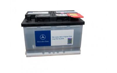 Родной аккумулятор Mercedes 74А/ч  Ca/Ca