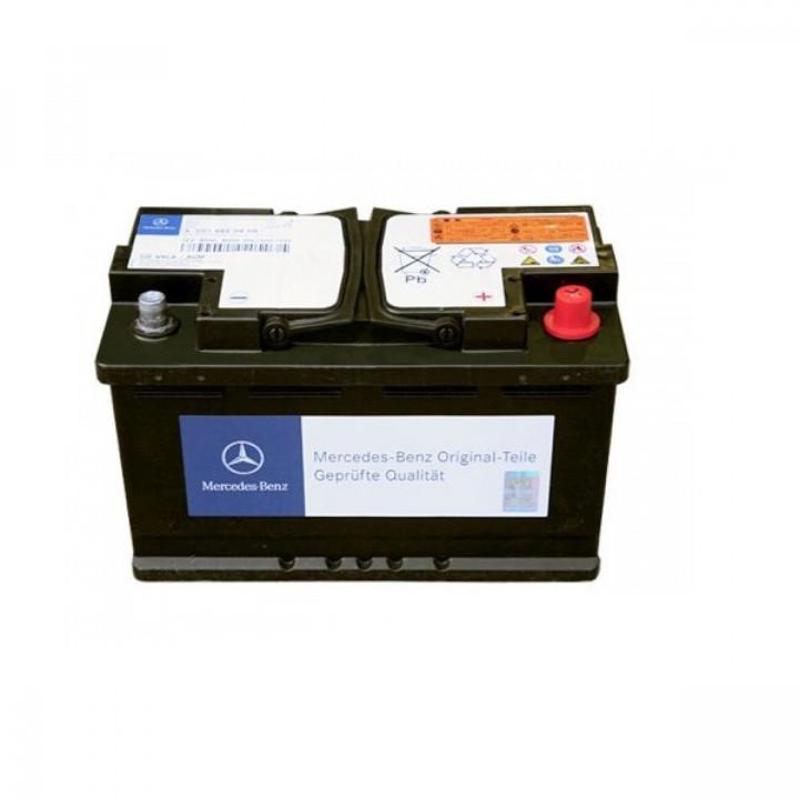 Родной аккумулятор Mercedes-benz  (A001982790826) 12в 60A/h 680A  AGM.